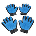 Pet Grooming Glove, Bathing Cleansing Massage Gloves Tool Softly Removes Hair Scrub Brushes
