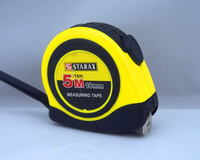 high quality auto lock rubbered steel tape measure