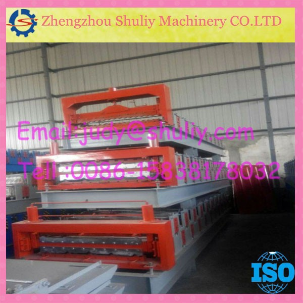 pc corrugated transparent roofing sheet-roofing sheet making machine
