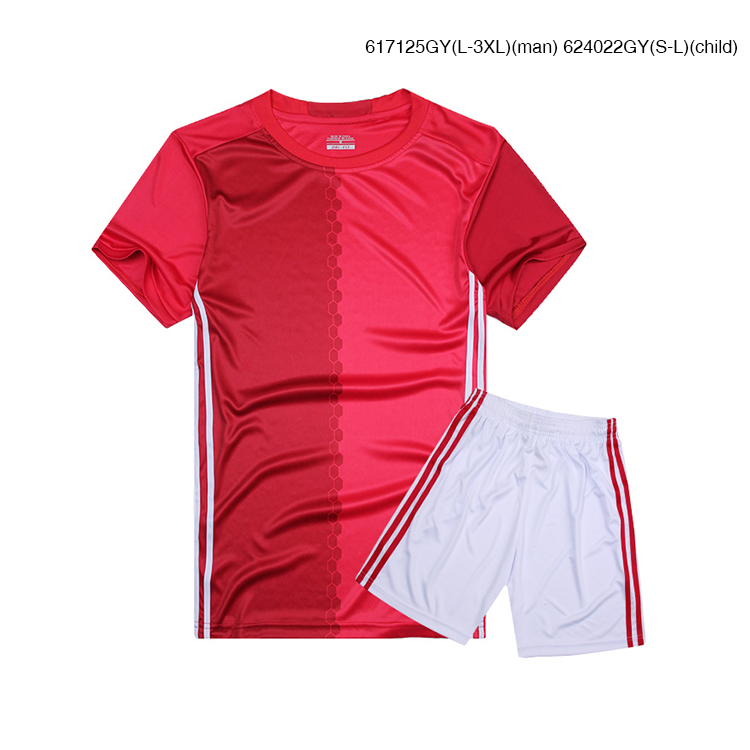 Magic Red Sport Wear,Design Youth Soccer Training Suits,Put Your Logo to Football Jersey