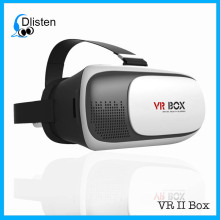 Hottest VR Headset 3D Box Glasses for Smart Phone/Helmet-mouted display/Cheap Price Virtual Reality 3D Glasses for Video