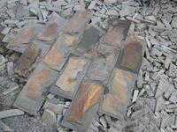 Brand new rusty natural slate stone wall decoration with CE certificate