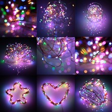 rgb christmas fairy multi color led curtain that play music vintage outdoor string lights