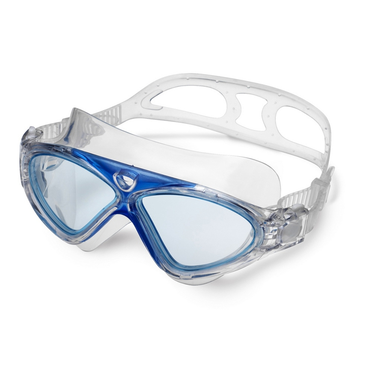 OEM wide vision anti fog swimming goggles under SGS testing certificate