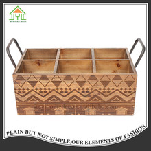 Modern useful beautiful design antique preferential china fir wine wood bottle stand