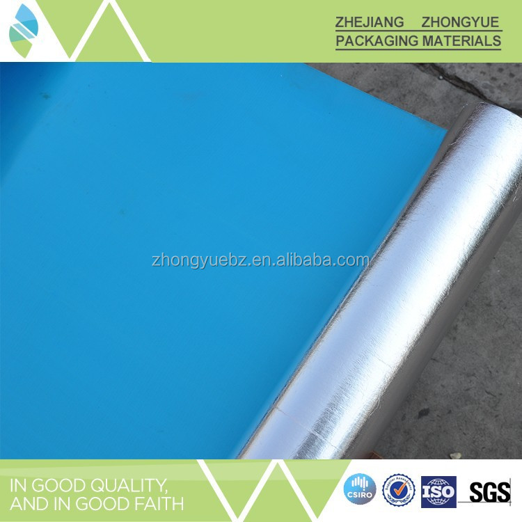 Used in field of building pp/pe synthetic roof underlayment with self-adhesive back