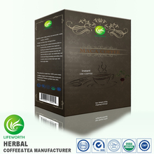 Lifeworth Alibaba new products hign level maca Coffee 3 in 1 Instant Coffee with 100 package designs choice