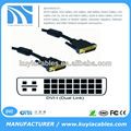 DVI 24+5 to DVI 24+5 cable for PC Computer Monitor Cable Lead Wire
