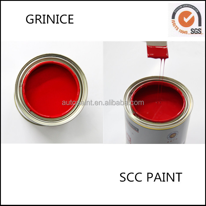 OEM supported easy sanding heat resistant car touch up paint