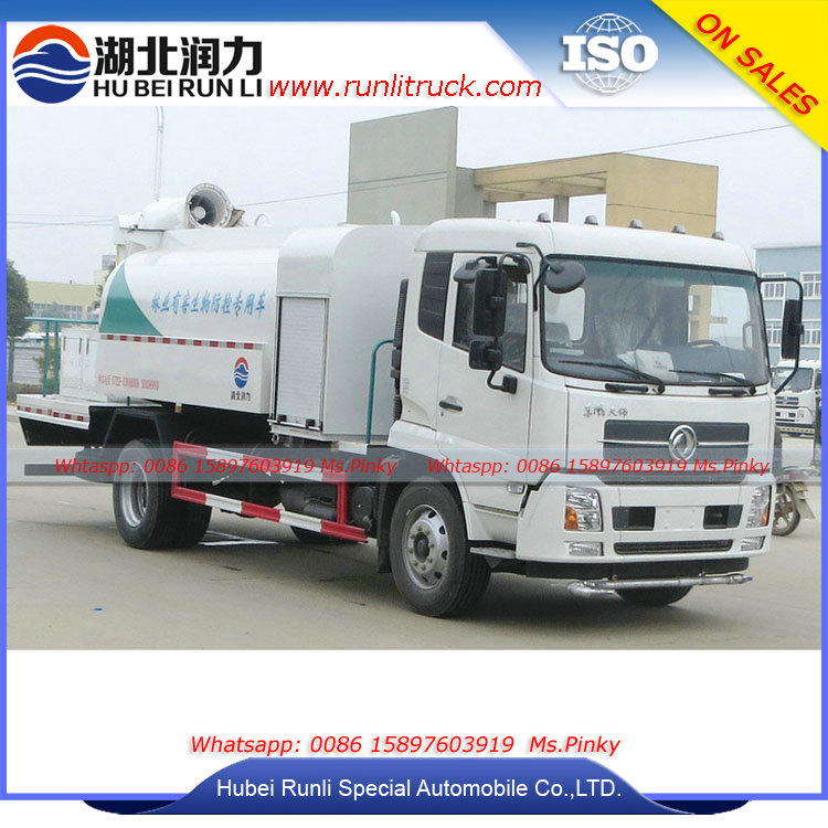 China Hubei Manufactuer Duty Dust Suppression Spray Cannon Trucks 8Tons Special Water Truck