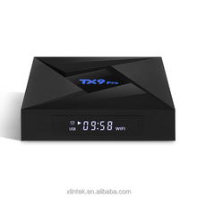 2018 New arrival cheapest amlogic S912 tv box TX9 pro octa core 3GB RAM 32GB ROM android 7.1 OS wireless tv box TX9 pro