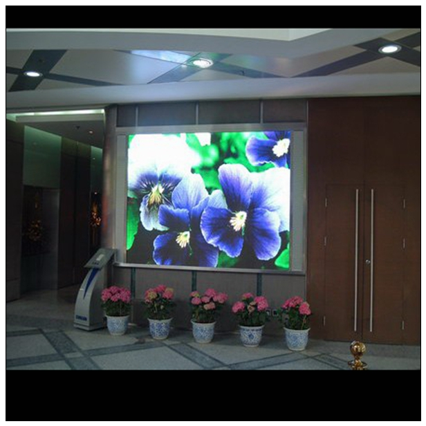 p6 outdoor p3.91 widely used full color indoor led display information release