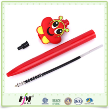 Promotional souvenir custom design writing cartoon ball pen factory