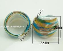 Lampwork Other Shape Ring Top Finger 322004