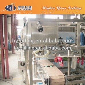 HY-Filling Mixed Juice and natural fruit drinking in doypack with cap standing pouch filling and capping factory packing machine