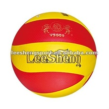 new model 10 panels dimple PU leather volleyball