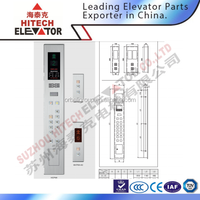Elevator Wall Mounted COP & LOP for Cabin
