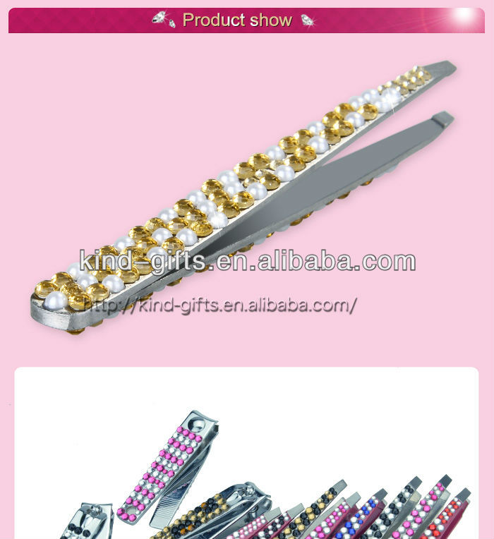 High Quality Bling Light Up Tweezers