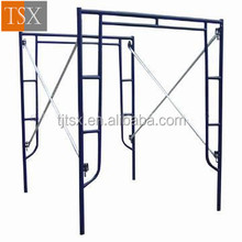 TSX-SF11469 specification 1229*1700 main tube 42*2.4/inner tube 25*1.5 frame scaffolding used with safety net