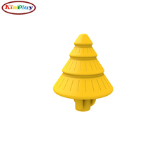 KINPLAY brand playground equipment kids toys hot selling slide accessories pine tree roof