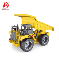 RC Dump Truck Construction Toy Truck Diecast Model Car 1 18 with USD