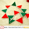 Laser cut felt hanging decoration for home decoration