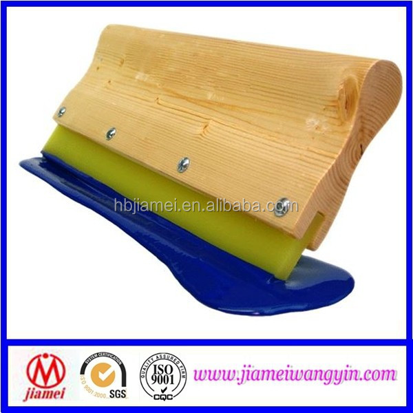 Screen printing wooden and aluminum handle Squeegees