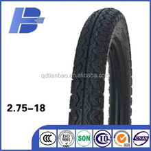factory high quality dunlop quality motorcycle tires dunlop 2.75-18