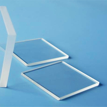 Quartz glass plate 60mm x 60mm x 4mm