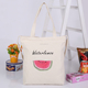 Cotton canvas blank canvas wholesale tote pouch bags