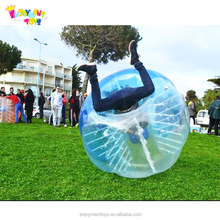 Colorful TPU/PVC inflatable human soccer bubble loopyball/bubble soccer for match