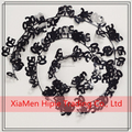 New Design Black and Silver wired Tinsel Garland birthday anniversary party decoration