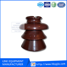 ANSI 56 Serials Strain Porcelain Insulators For Lines/ceramic pin type insulator 22kv manufacturer of electricity