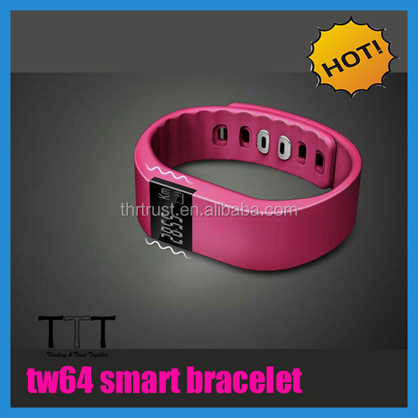 2015 new health assistant waterproof wristband watch, ble4.0 cicret smart bracelet