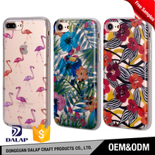 Factory wholesale mobile pc tpu hybrid cover, clear printing custom cell phone imd tpu case for i phone 6 7 7plus