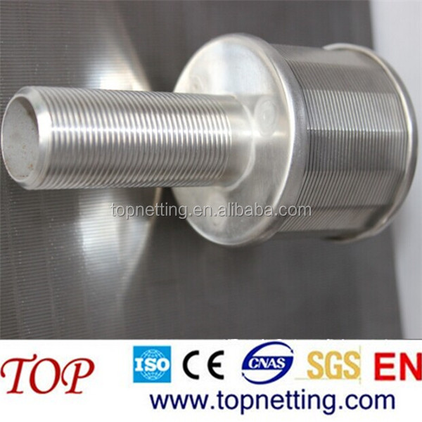 screen nozzle water filter /Resin trap (strainer)