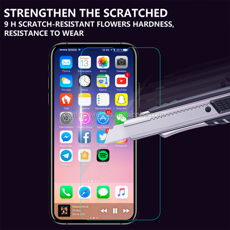 New Coming! For Iphone 8 High Quality Anti Explosion Screen Protector Shield Guard, For Iphone 8 ClearTempered Glass