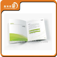 Europe style custom photo printed promotion pamphlet