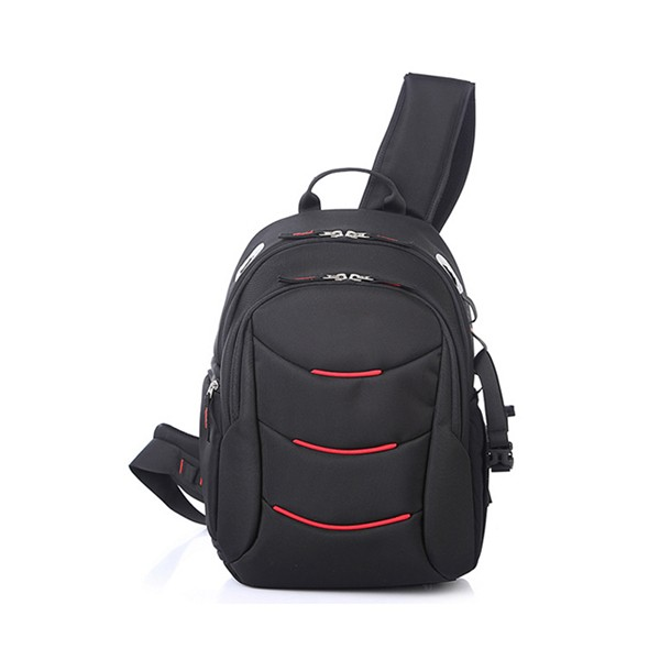 Oem red camera bag with good padding, factory price, chest bag