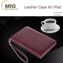 Tablet pc flip leather case for Apple iPad Mini 4 Wallet case for ipad air stand Universal tablet case