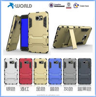 2015 new design PC with Silicon heavy duty case for Samsung galaxy Note 5