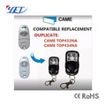 High Quality Duplicator 433.92MHZ CAME TOP432NA remote control
