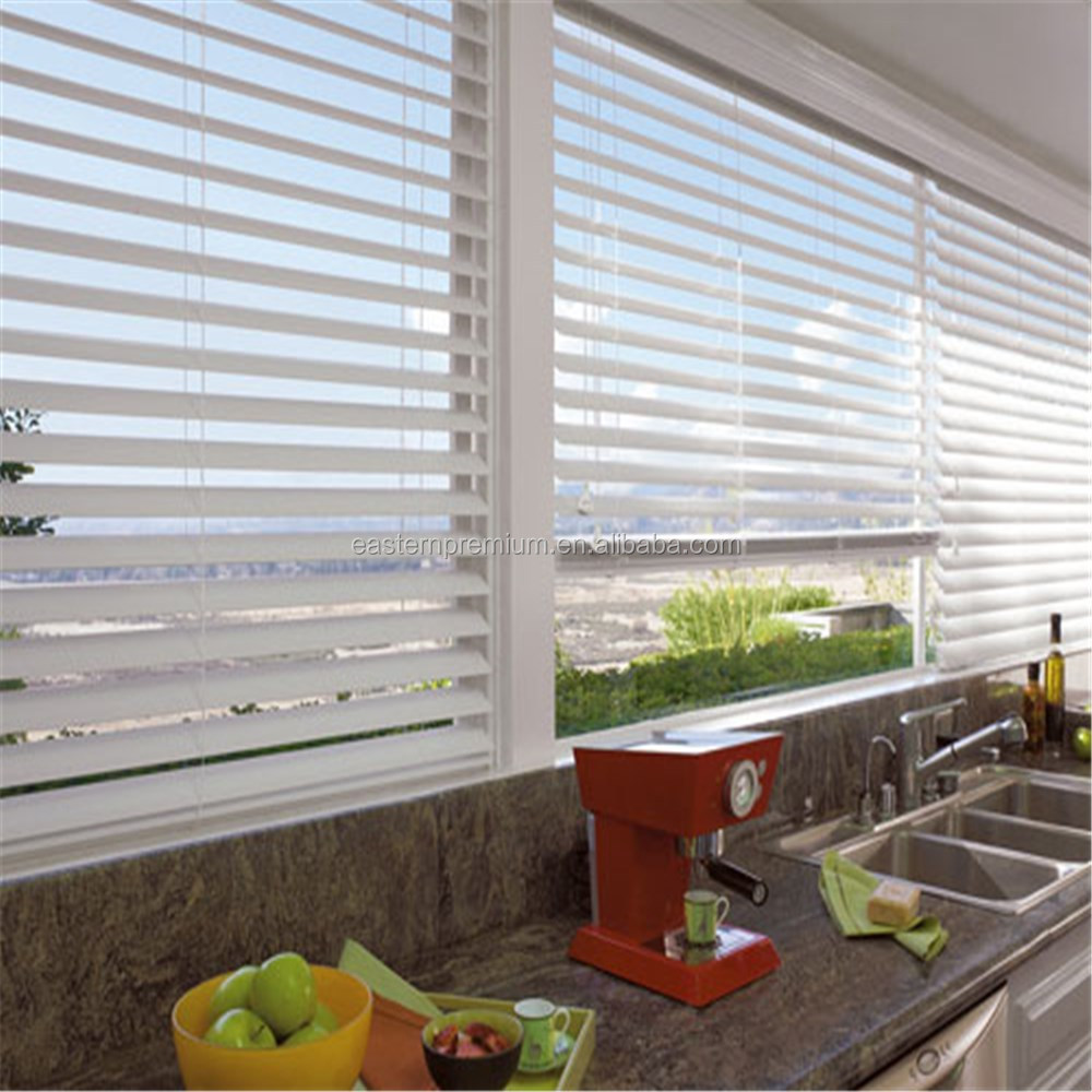 European Style Waterproof PVC Vinyl Venetian Window Shades