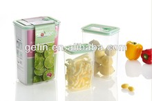 3pcs high rectangular food container
