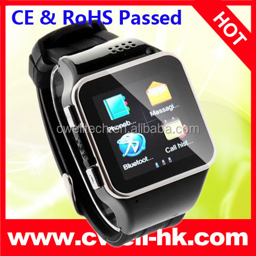 CONO S2 Capacitive Touch Screen Low cost Mobile Watch Phones with Smartphone Synchronization Function. CE & RoHS Passed