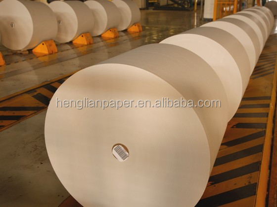China Mill Premium Quality Roll Paper 80GSM