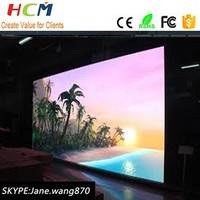Good quality full color led video screen 32*64 dots p6 indoor rgb display led
