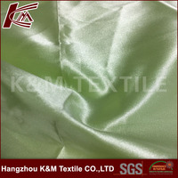 100 polyester pu coating fabric polyester satin textile for garment fabric