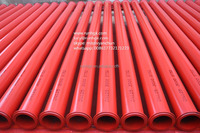 Concrete pump pipe ST52 ZX (concrete pump parts, bend, pipe, clamp, reducer, piston, cylinder, wearing plate, vavles)