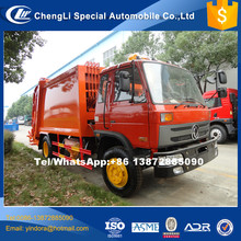 New coming 2017 waste management lhd rhd garbage compactor truck